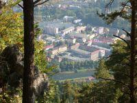 Predný Čebrať 945m n.m - pohľad na Ružomberok